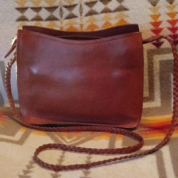 Sigrid Olsen Handbags - Sigrid Olsen- Honey Leather Small Bag/sachel